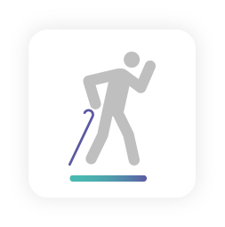 Ejercicios para personas mayores: marcha y movilidad
